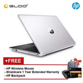 """HP 14-bs577TU Notebook (i3-6006U,1TB,4GB,14"""",W10,Intel HD,Silver) [FREE - Shield care 1 Year Extended Warranty and HPx3000 Wireless Mouse]"""