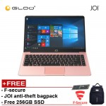 """JOI Book 100 – AD-L100RG Cel N3450, 4+32GB, 14"""" FHD, W10 Home, Rose Gold {Free 256GB SSD + Anti-Theft Backpack + F-Secure Client Sercurity Premium}"""