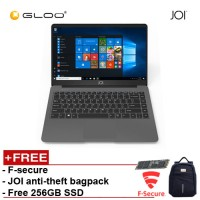 "JOI Book 150 – AD-L150DG Cel N4100, 4+32GB, 14"" FHD, W10 Home, Dark Grey {Free 256GB SSD + Anti-Theft Backpack - Blue +F-secure}"