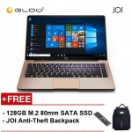 "JOI Book 150 - AD-L150G Cel N4100, 4+32GB, 14"" FHD, W10 Home, Gold {Free Intel® 128GB SSD + JOI Anti-Theft Backpack - Blue}"
