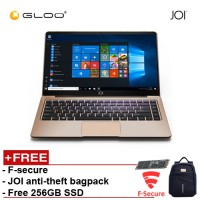 "JOI Book 150 – AD-L150G Cel N4100, 4+32GB, 14"" FHD, W10 Home, Gold {Free 256GB SSD + Anti-Theft Backpack - Blue + F-secure}"
