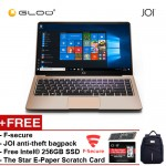 "JOI Book 150 – AD-L150G Cel N4100, 4+32GB, 14"" FHD, W10 Home, Gold {Free 256GB SSD + Anti-Theft Backpack - Blue + F-secure + The Star E-Paper Scratch Card}"
