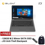 "JOI Book 150 - AD-L150DG Cel N4100, 4+32GB, 14"" FHD, W10 Home, Dark Grey {Free Intel® 128GB SSD + JOI Anti-Theft Backpack - Blue}"