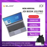 """JOI Book 155 Pro (N4120,4GB+64GB,14"""" FHD,W10Pro) [Free 256GB SSD + JOI Backpack+ 1 Box of Face Mask + 1 Pcs Mask Keeper - valid from 11th - 26th Nov 2020]"""