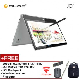 JOI Book Touch 300 [FREE GIFT 256GB M.2 2280 SATA SSD + JOI Active Pen Pro 300 + Backpack + Logitech Wireless Mouse + F-secure]