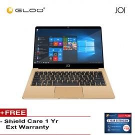 """JOI Book 80 - AD-L80SIL/AD-L80GLD Cel N3350, 4+64GB, 12.5"""" FHD, W10 Home (Free Shieldcare 1 Yr Extended Warranty)"""