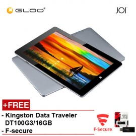 JOI 11 Pro (64GB) Tablet - Grey PN: IT-T500 { Free F-Secure Client Sercurity Premium + Kingston Data Traveler DT100G3/16GB}