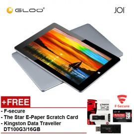 JOI 11 Pro (64GB) Tablet - Grey PN: IT-T500 { Free F-Secure Client Sercurity Premium + The Star E-Paper Scratch Card + Kingston Data Traveler DT100G3/16GB}