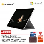Surface Go Y/4GB 64GB + Surface Go Type Cover Burgundy + Shieldcare 1 Year Extended Warranty + F-Secure End point Protection + Office 365 Personal (ESD License)