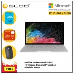 "Book 2 13"" i7/16GB 512GB + F secure + 365P + Designer Mouse (Black Color)"