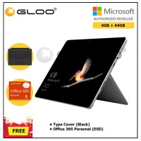 Surface Go Y/4GB 64GB + Surface Go Type Cover Black + Office 365 Personal ESD