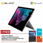 Microsoft Surface Pro 6 Core i5/8GB RAM -128GB + Type Cover Black + Office 365 Personal (ESD) + F-Secure Endpoint Protection + Shieldcare 1 Year Extended Warranty
