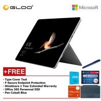 Surface Go Y/8GB 128GB + Surface Go Type Cover Teal + Shieldcare 1 Year Extended Warranty 1 Year Extended Warranty + F-Secure Anti Virus + Office 365 Personal (ESD) + Pen Teal