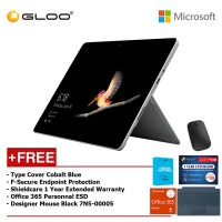 Surface Go Y/8GB 128GB + Surface Go Type Cover Teal + Shieldcare 1 Year Extended Warranty 1 Year Extended Warranty + F-Secure Anti Virus + Office 365 Personal (ESD) + Designer Mse