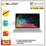 """Microsoft Surface Book 2 15"""" i7/16GB 256GB + F-Secure EndPoint Protection + Office 365 Home ESD + Pen Black"""