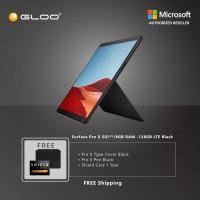 Microsoft Surface Pro X SQ1/8GB RAM -128GB LTE Black + Pro X TC Black + Pro X Pen Black + Shield Care 1 Year