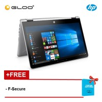 HP Pavilion x360 14-ba079TX Laptop (i7-7500U, 4GB, 1TB, NV 4GB, W10) - Gold [FREE F-Secure Client Security Premium License for 1 yr worth RM147ea]