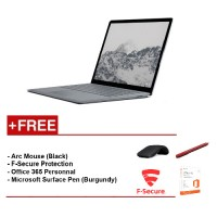Surface Laptop Core i7/8GB RAM - 256GB + F-Secure End Point Protection + Office 365 Personal + Arc Mouse (Black) + Microsoft Surface Pen (Burgundy)