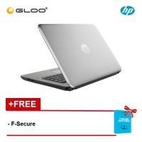 "HP ProBook 430 G4 13.3"" Laptop (I5-7200u, 4GB, 500GB, Intel, W10Pro) - Silver [FREE F-Secure Client Security Premium License for 1 yr (FCCPSN1NVXAIN)  worth RM147ea]"