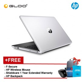 HP 14-bs577TU (2LR83PA) [FREE F-Secure Client Security Premium License + HP X3000 Blue Wireless Mouse + Shield Care - 1 Year Extended Warranty]