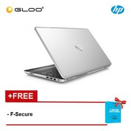HP Pavilion 15-au102TX Laptop (i5-7200U, 4GB, 1TB, NV 2GB, W10) - Silver [FREE F-Secure Client Security Premium License for 1 yr (FCCPSN1NVXAIN) worth RM147ea]
