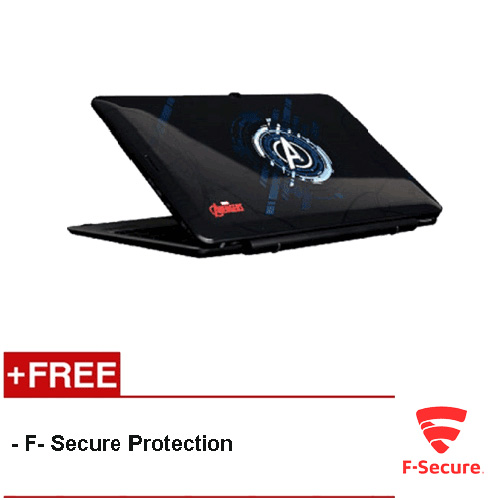 """(REFURBISHED) WMP AVR116T 11.6"""" 2 in 1 Windows Tablet Black (Avengers) [FREE F-Secure Client Security Premium License 1 Year]"""