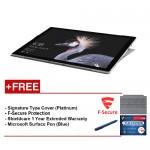NEWMicrosoftSurfacePro-Corei58G/256GBFreeSurfaceProTypeCover(Platinum)+Shieldcare1YearExtendedWarranty+F-SecureEndPointProtection+Microsoft Surface Pen (Cobalt Blue)