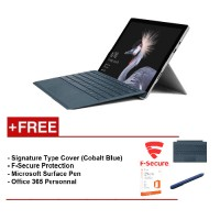 NEWMicrosoftSurfacePro-CoreI78G/256GBFreeSurfaceProTypeCover(CobaltBlue)+F-SecureEndPointProtection+Office365Personal+Microsoft Surface Pen (Cobalt Blue)