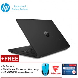 HP 14-bw019AX [FREE F-Secure Client Security Premium License + HP X3000 Blue Wireless Mouse + Shield Care - 1 Year Extended Warranty]