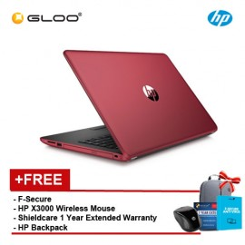 HP 14-bw054AU [FREE F-Secure Client Security Premium License + HP X3000 Blue Wireless Mouse + Shield Care - 1 Year Extended Warranty]