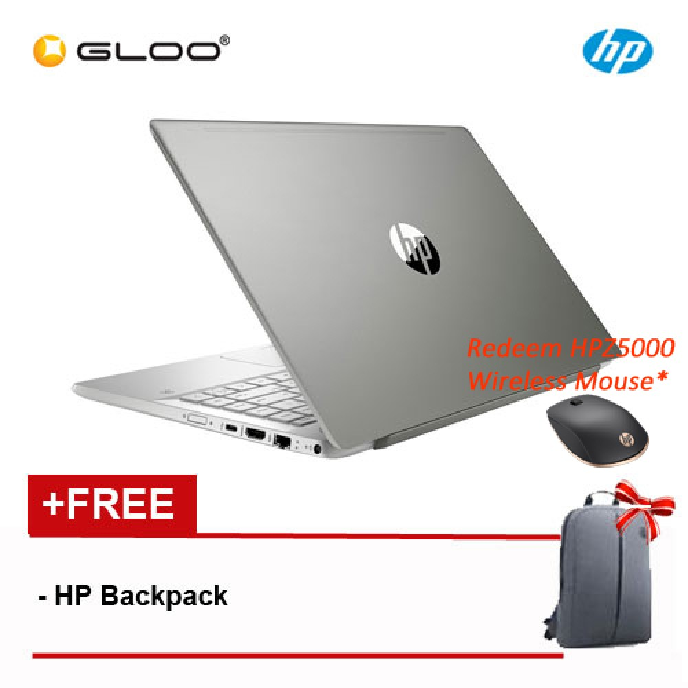 HP Pavilion - 14-ce0084tx (4RW10PA) [Redeem Free HPZ500 Wireless Mouse Worth RM109]
