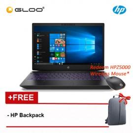 "HP Pavilion Gaming 15-cx0183TX 15.6"" FHD Gaming Laptop (i7-8750H, 1TB, 4GB, NVIDIA GTX1050 4GB, W10) - Ultra Violet [Redeem Free HPZ500 Wireless Mouse Worth RM109*]"