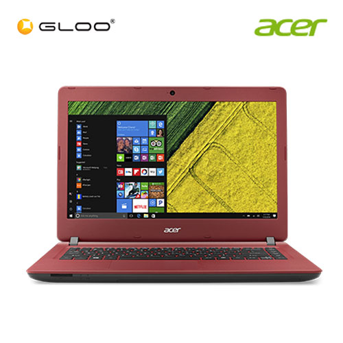 "Acer Aspire ES 14 ES1-432-C8AR Notebook (Intel Celeron N3350,500GB,4GB,14"",W10,Intel HD,Red)"