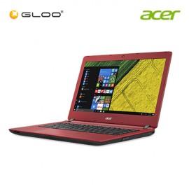 """Acer Aspire ES 14 ES1-432-C8AR Notebook (Intel Celeron N3350,500GB,4GB,14"""",W10,Intel HD,Red)"""