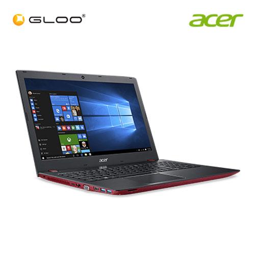"""Acer Aspire E 15 E5-576G-54KG Notebook (Intel i5-8250U,1TB,4GB,15.6"""",W10,NVIDIA MX150 2GB,Red)"""