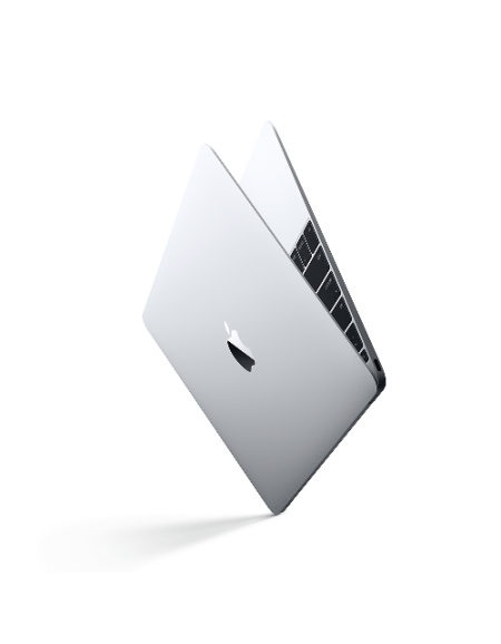 MacBook 12-inch Silver (1.3GHz Core i5 Processor, 8GB Memory, 512GB Storage)