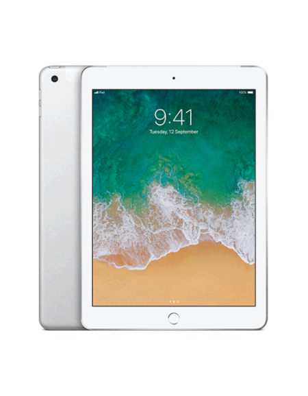 iPad 128GB - Silver Wi-Fi + Cellular