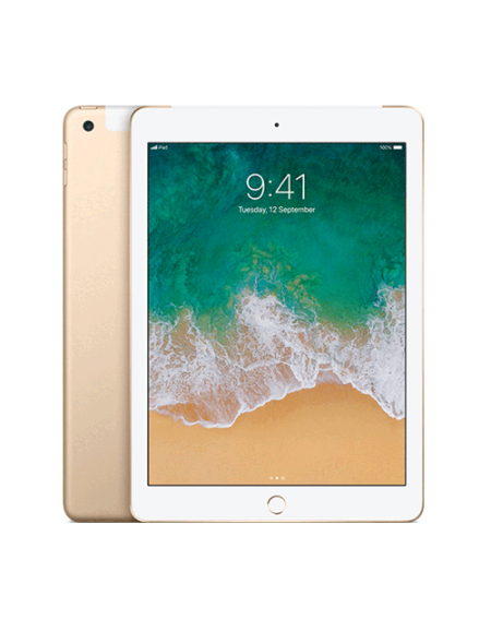 iPad 128GB - Gold Wi-Fi + Cellular