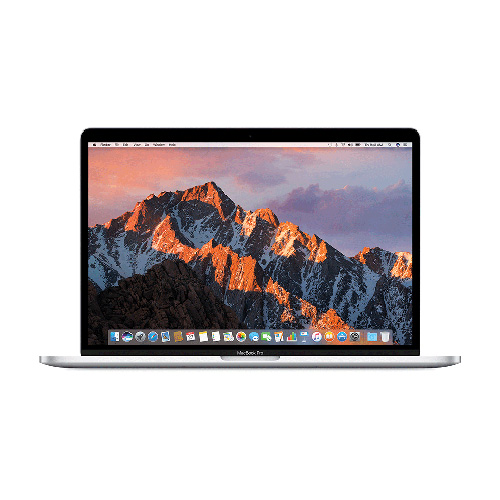 MacBook Pro 15-inch  with Touch Bar Silver (2.9GHz Core i7 Processor, 16GB Memory, 512GB Storage)