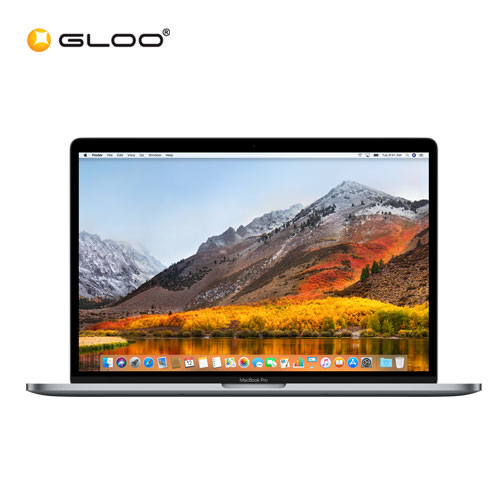 Pre-Order [2018] Apple Macbook Pro 15-inch with Touch Bar MR932ZP/A (2.2GHz 6-core Intel Core i7 processor, 16GB Memory, 256GB Storage) - Space Grey