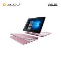 """Asus Transformer Book T101H-AGR007T Notebook (Intel x5-Z8350,64GB,2GB,10.1"""",W10,Intel HD,Pink Gold)"""