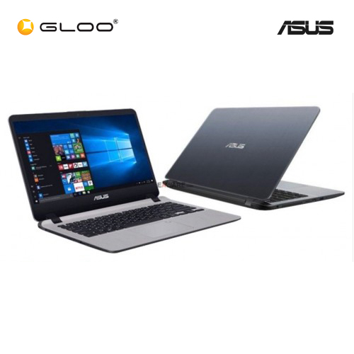 """ASUS A407M-ABV036T Notebook (N4000,4GB,500GB,14"""",W10,GRY)"""