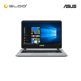"ASUS A407M-ABV036T Notebook (N4000,4GB,500GB,14"",W10,GRY)"