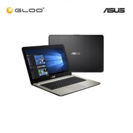 """Asus Vivobook X441N-AGA139T Notebook (Intel Celeron N3350,500GB,4GB,14"""",W10, Intel HD,Black)"""