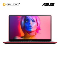 "ASUS Vivobook S530F-NBQ270T Laptop (i5-8265,4GB,1TB+128,NV 2G,15.6"",W10,RED)"