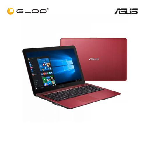 "Asus Vivobook Max X541U-VXX1464 Red Notebook (i3-6100,4G,1TB,NV 2GB,15.6"",W10)"