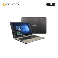 Asus X541N-AGO280T Black Notebook(Celeron N3350 4G 500GB UMA)