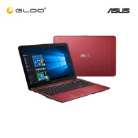 "Asus Vivobook Max X541S-AXX346T 15.6"" Laptop ( Celeron N3060, 4GB, 500GB, Intel, W10) - Red"