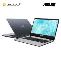 "ASUS Vivobook A407U-ABV321T Laptop (i3-8130,4GB,1TB,14"",W10,GRY) [Redeem free HP Deskjet 1112 printer and stand a chance to win RM100 voucher - valid until 30 Sept 2019]"