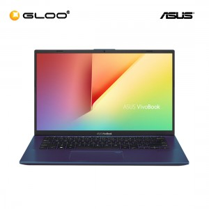 ASUS Vivobook A412U-ABV494T (4417U,4GB,256GB,14'',W10,BLU)